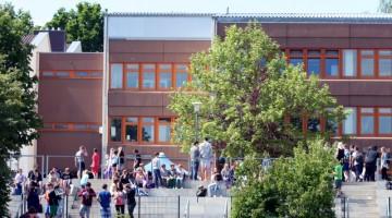 Schulhof, B_Bau